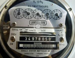energieleverancier meter